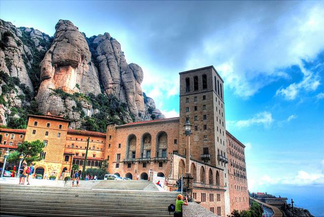 Ignatius vists Santa Maria de Montserrat