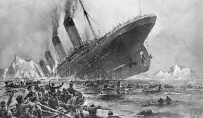 Se hunde el transatlántico Titanic