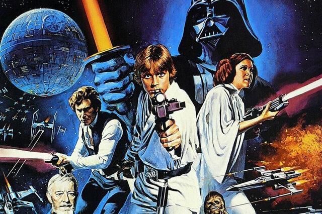 historia de la saga de star wars