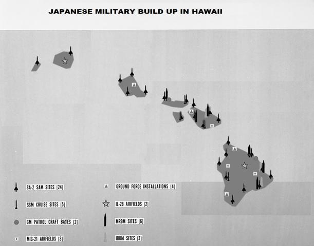 Inizio della crisi dei missili delle Hawaii