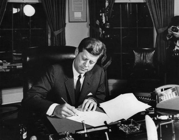 Discorso televisivo del Vicepresidente Kennedy sulla crisi missilistica