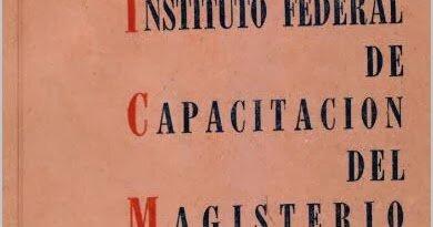 INSTITUTO FEDERAL DE CAPACITACIÓN DEL MAGISTERIO