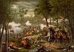 Battle of Chancellorsville April 30 to May 6, 1863