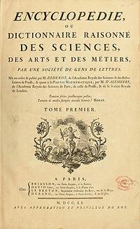 La Encyclopédie