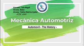 """Automóvil """"The History"""" timeline"""
