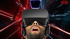 Evolución de las gafas de realidad virtual. timeline