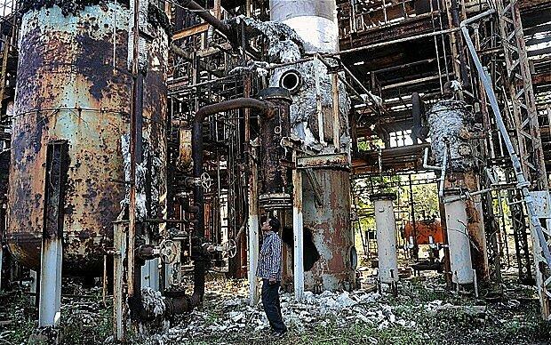 GAS MORTAL EN BHOPAL(India)