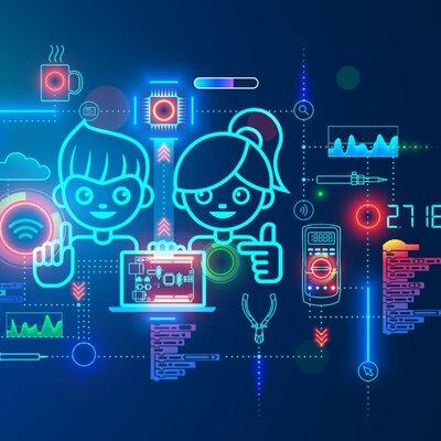 Tecnologia en la educacion timeline