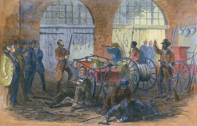 Raid on Harpers Ferry 1859