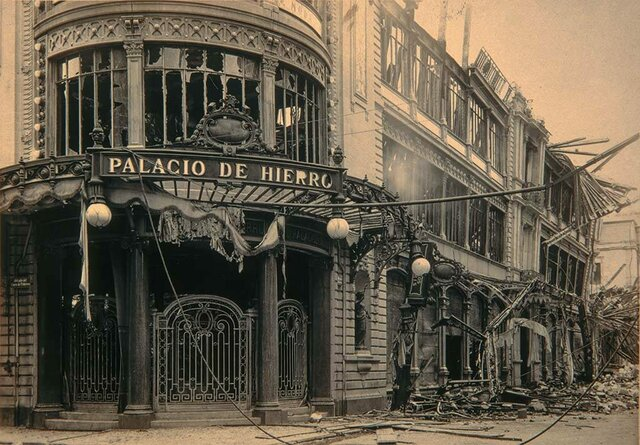 Inauguración del Palacio de Hierro