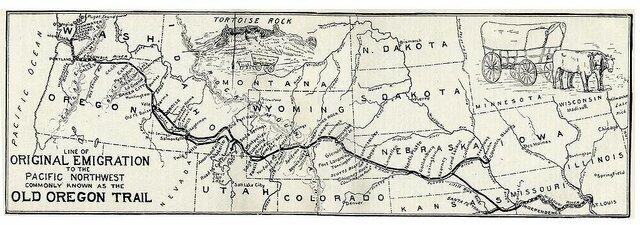 El Camino hacia Oregon