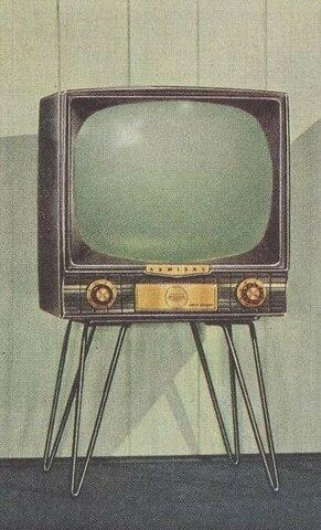 La primera televisión