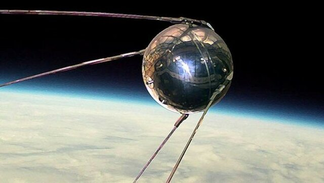 Primer satélite mandado al espacio