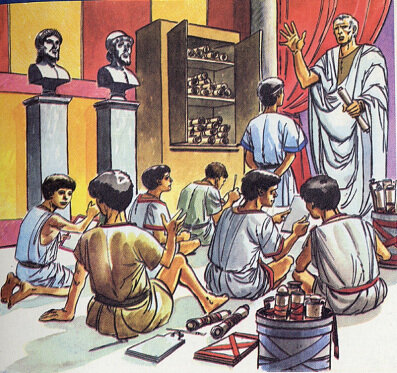 EDAD ANTIGUA GRECIA Y ROMA