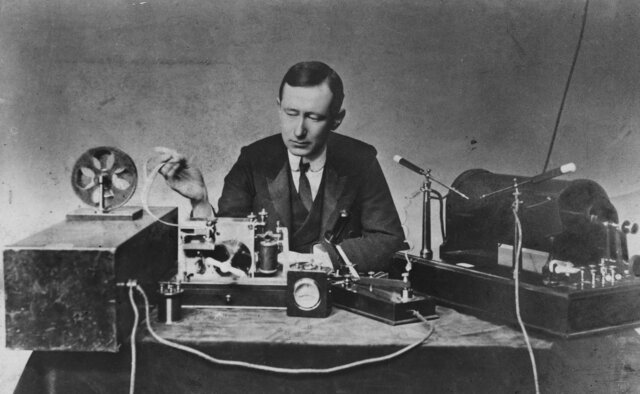 The first radio receiver successfully receives a radio transmission