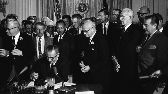Passage of the 1964 Civil Rights Act