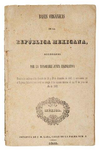 Constitución de 1843