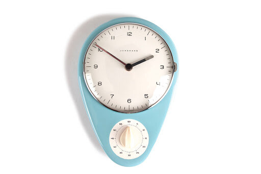 Reloj de cocina de Max Bill