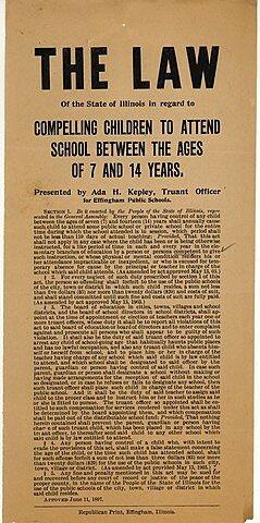 Law mandating Compulsory Education