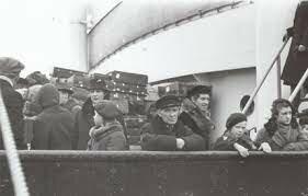 Baltisakslaste lahkumine/ Hitleri kõne