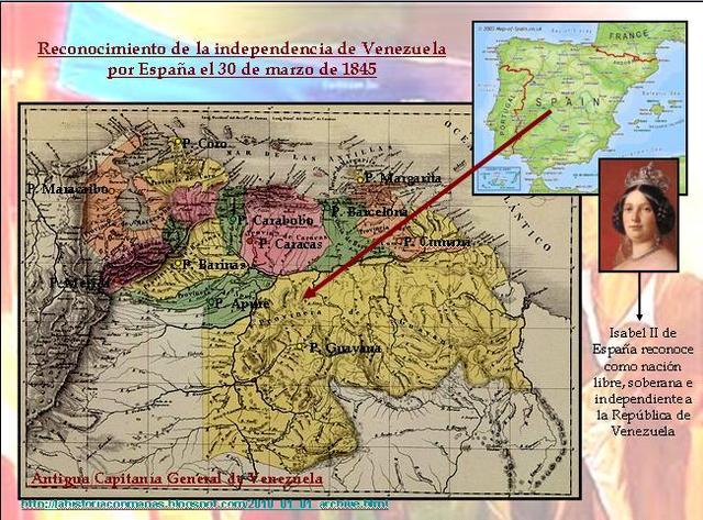 Tratado de Paz y Amistad entre Venezuela y España