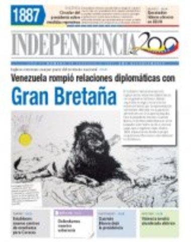 Venezuela suspende Relaciones Diplomáticas con Gran Bretaña
