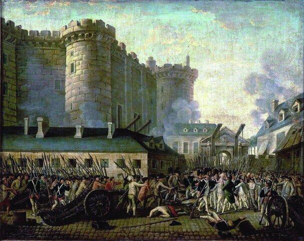 Dobytie Bastily - začiatok Veľkej francúzskej revolúcie