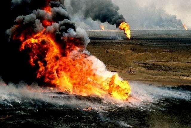 Incendios de los pozos de petróleo de Kuwait