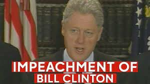 •	Bill Clinton's Impeachment