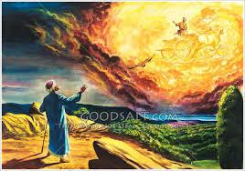 Elisha becomes the prophet