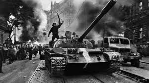 1948 la invasión soviética Checoslovaquia y la implementación del bloqueo a Berlín