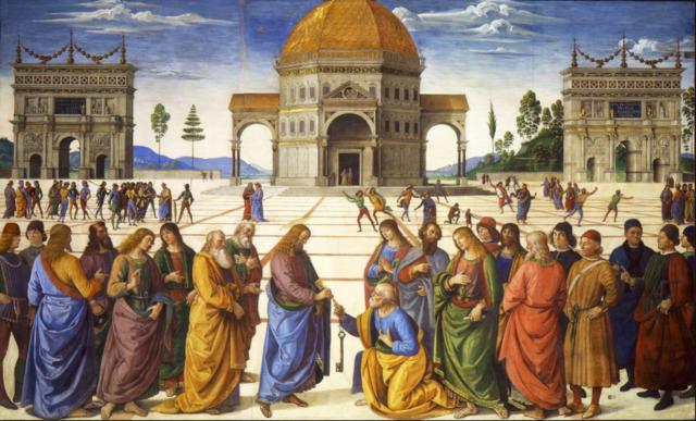Consegna della chiavi a San Pietro