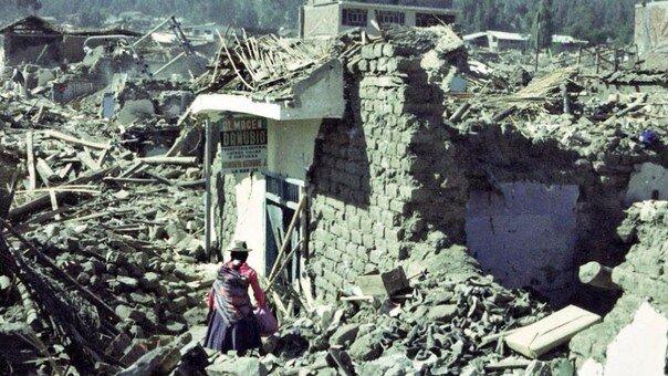 Terremoto en Ancash