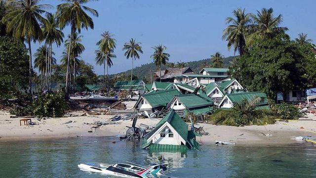 TSUNAMI DEL OCÉANO ÍNDICO EN INDONESIA