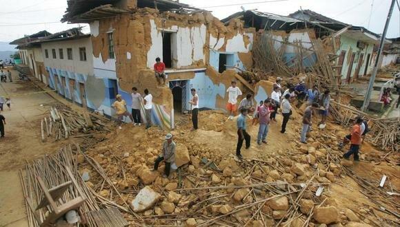 Terremoto en Moyobamba