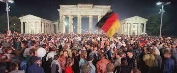 1990 de reunificación de Alemania