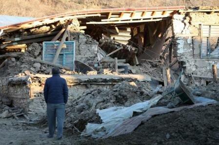 Terremoto en la región Sur