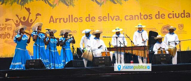 Festival de música del Pacíficio Patronio Alvarez
