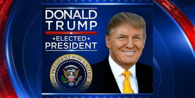 Donald Trump Elected President