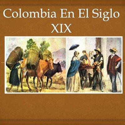 Colombia en el siglo XIX     timeline