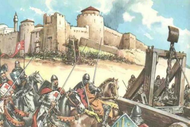 QUINTA CRUZADA 1217-1221