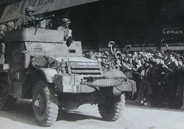 Alliberament de paris per les tropes aliades