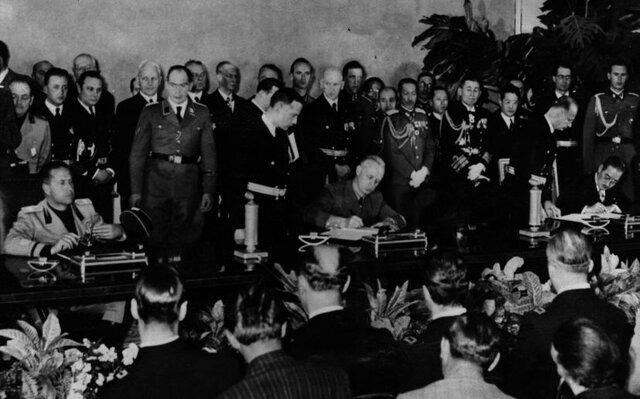 El Pacte de l'Eix entre Alemanya, Itàlia i Japó