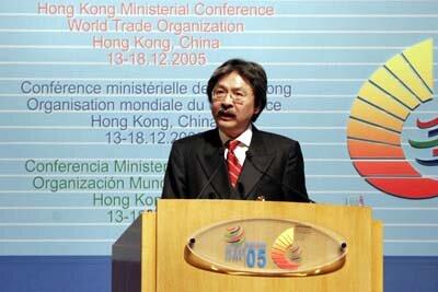 Sexta Conferencia Ministerial - Hong Kong.