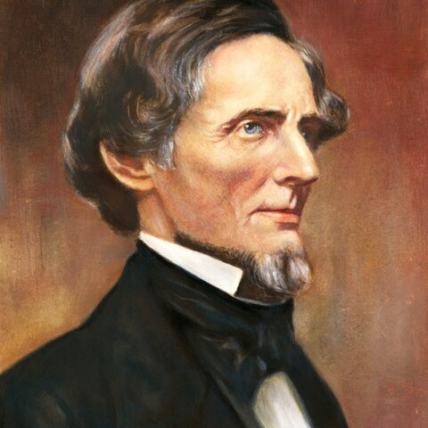 Jefferson Davis is elected president of the Confederate States of America