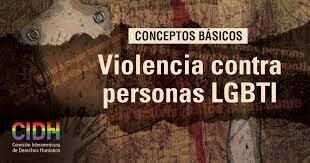VIOLENCIA CONTRA LAS PERSONAS LGBT