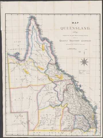 Gold discovered in Queensland