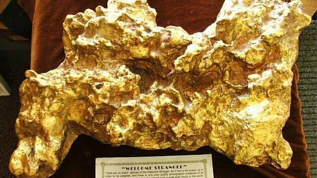The world largest piece of gold.