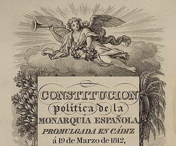 Constitución Política de la Monarquía Española