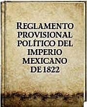 Reglamento Provisional Político del Imperio Mexicano